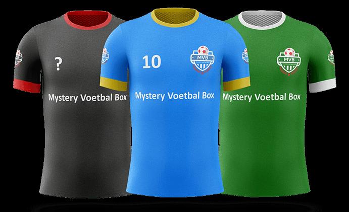 Eine Mystery Box mit den besten Fußballfanartikeln bestellen? Mystery Box Fußballtrikot